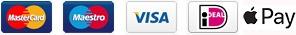 Ideal Apple pay Mastercard Maestro Visa betaalmethodes By Botique-Fashion