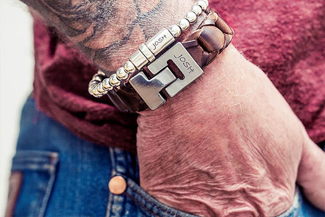 Josh heren armbanden By Botique