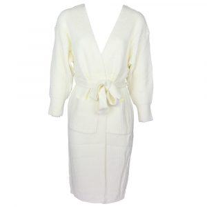 Moocci Maxi Wrap Vest Creme By Botique-Fashion