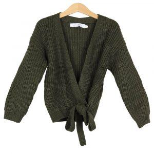 Ambika Kids Wrap Vest Army By Botique-Fashion