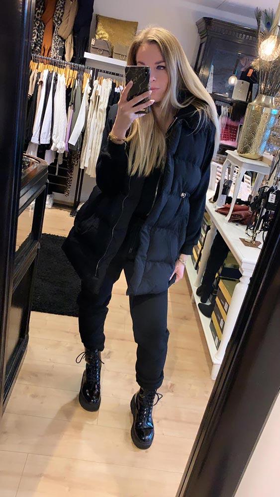 May 3 -Delige Comfy Set Black Model By Botique-Fashion