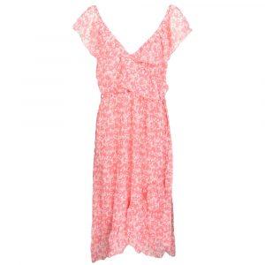 kilibbi lovely pink flower maxi dress by botique