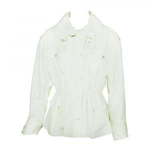 jus de pom cargo jacket white