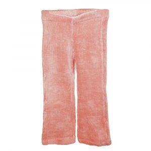 ambika kids quanda rib flared pants pink