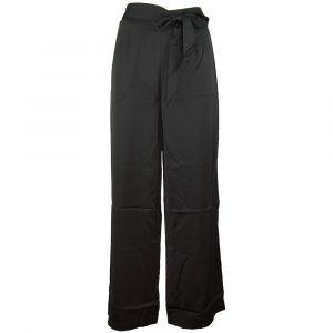 drole de copine satin look pants black