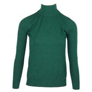 turtle neck sweather green